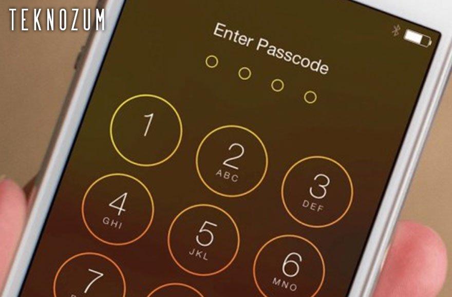 iPhone Şifremi Unuttum