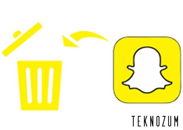 Snapchat Hesap Silme ve Dondurma