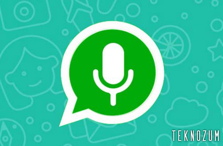 Whatsapp Konuşarak Mesaj Yazma Nedir?