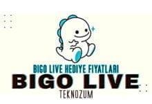 Bigo Live Hediye Fiyatları