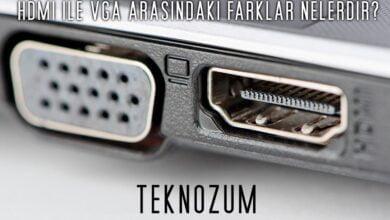HDMI ile VGA Arasındaki Farklar Nelerdir?