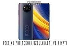 Poco X3 Pro Teknik Özellikleri