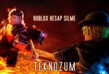 Roblox Hesap Silme