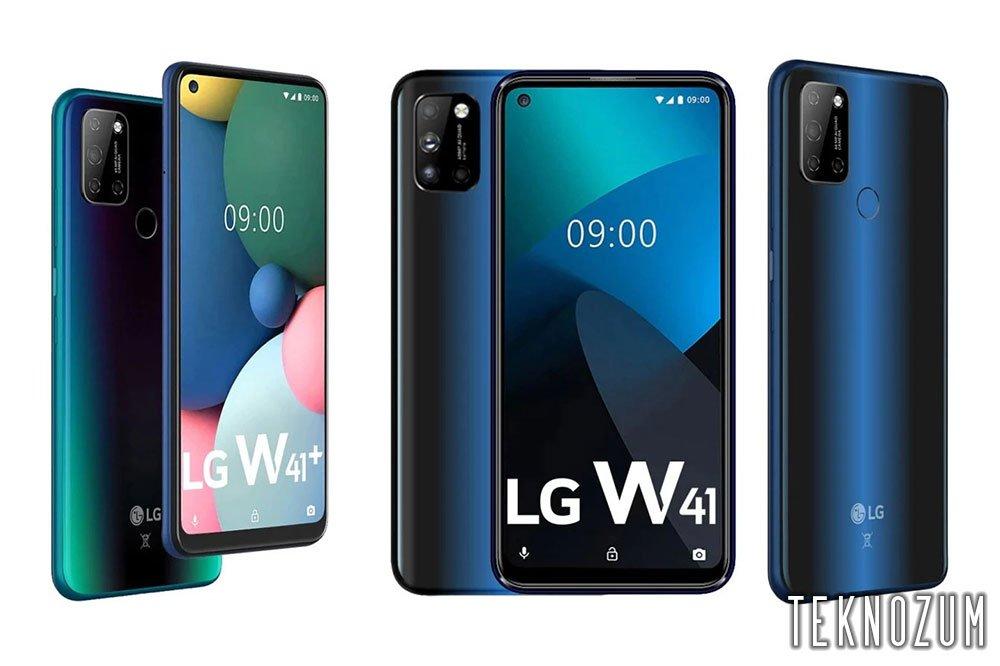 LG W41 Donanım Özellikleri