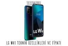 LG W41 Teknik Özellikleri ve Fiyatı