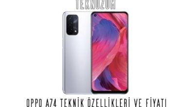 Oppo A74 Teknik Özellikleri ve Fiyatı