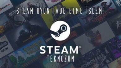 Steam Oyun İade Etme 2021